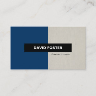 Psychologist business cards zazzle psychologist simple elegant stylish business card colourmoves