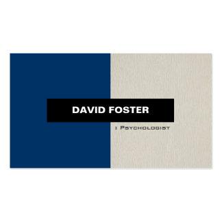 Psychologist - Simple Elegant Stylish Business Card