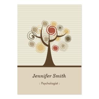 Psychologist - Stylish Natural Theme Large Business Card