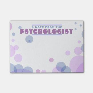 Psychologist's Bubble Design Post-it Notes
