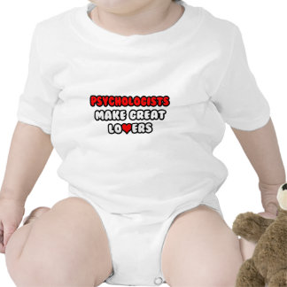 Psychologists Make Great Lovers Baby Bodysuit