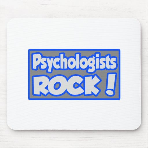 Psychologists Rock! Mousepads