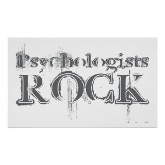 Psychologists Rock Posters