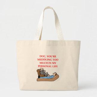 psychology jumbo tote bag