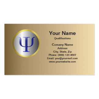 Psychology Business Card