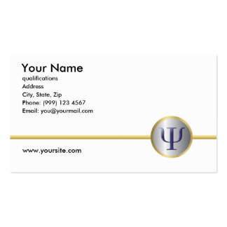 Psychology Business Card, Double Sided Business Card