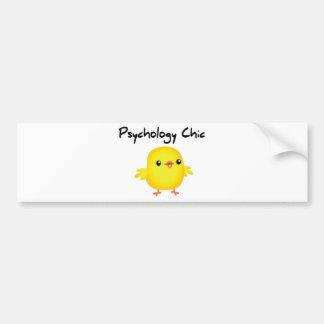 Psychology Chic Bumper Sticker