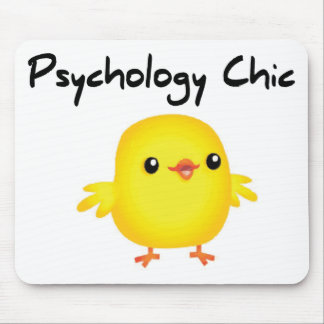 Psychology Chic Mouse Pad