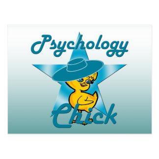 Psychology Chick #7 Postcard
