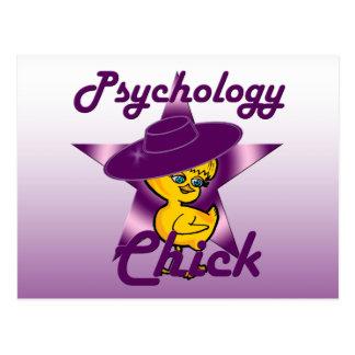 Psychology Chick #9 Postcard