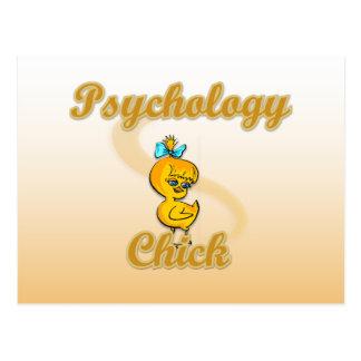Psychology Chick Postcard