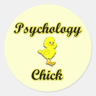 Psychology Chick Sticker