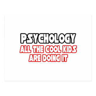 Psychology...Cool Kids Postcard
