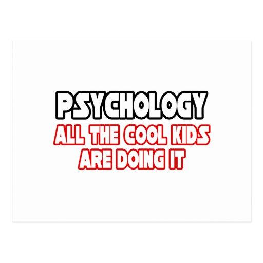 Psychology...Cool Kids Postcards