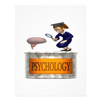 """Psychology 8.5"""" X 11"""" Flyer"""