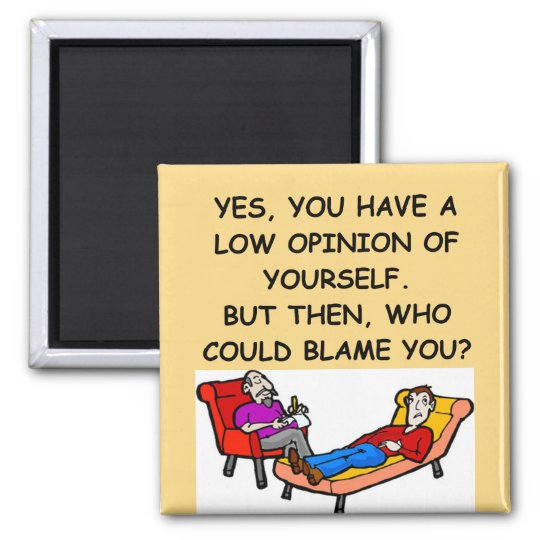 PSYCHology joke Magnet