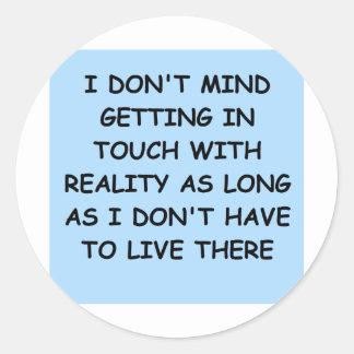 PSYCHology joke Round Sticker