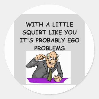 PSYCHology joke Sticker