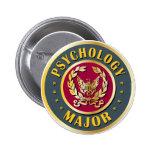 Psychology Major Pinback Buttons