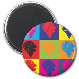 Psychology Pop Art Refrigerator Magnets