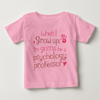 Psychology Professor (Future) Infant Baby T-Shirt