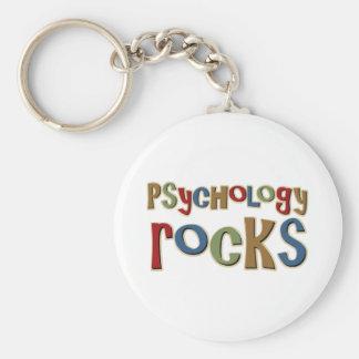 Psychology Rocks Basic Round Button Keychain