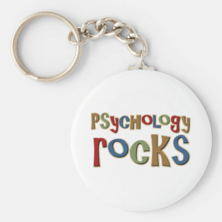 Psychology Rocks Keychain