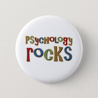 Psychology Rocks Pinback Button