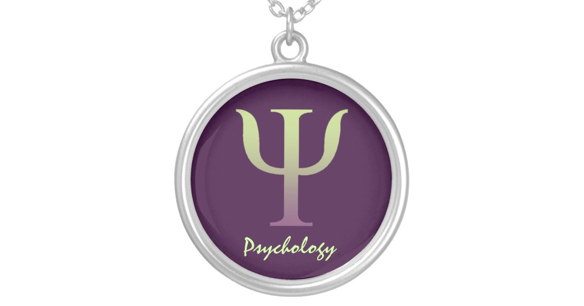 Psychology Symbol Necklace Zazzle