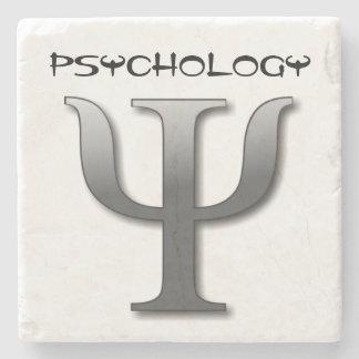 Psychology Symbol Stone Coaster