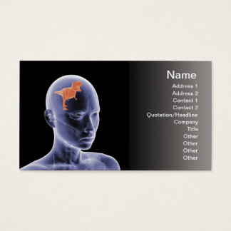 Psychology - the reptile mind business card
