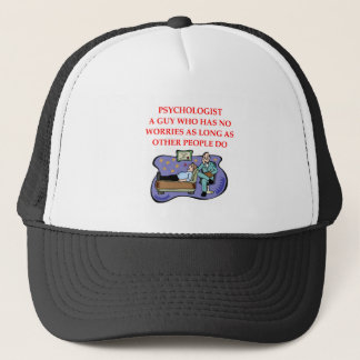 PSYCHOLOGY TRUCKER HAT