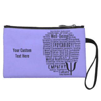 PSYCHOLOGY Word Cloud custom color accessory bags