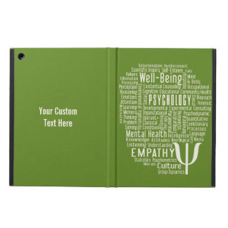 PSYCHOLOGY Word Cloud custom color cases