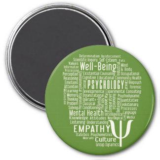 PSYCHOLOGY Word Cloud custom color magnet