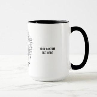 PSYCHOLOGY Word Cloud custom mugs