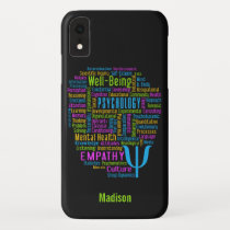 PSYCHOLOGY Word Cloud custom name & color cases