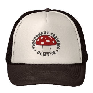 Psychonaut Training Center - Of Psychedelics, Red Trucker Hat