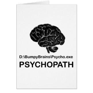 Psychopath Card