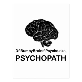 Psychopath Post Cards