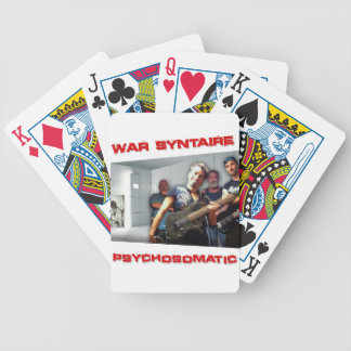 Psychosomatic Branded Item Bicycle Playing Cards