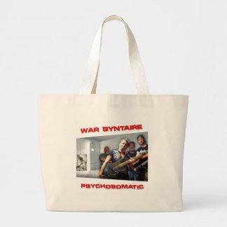Psychosomatic Branded Item Large Tote Bag