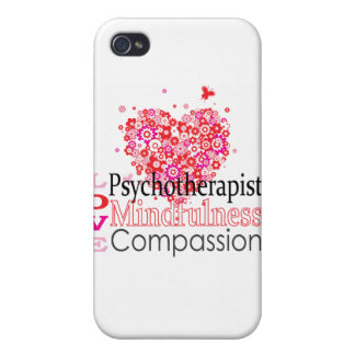 Psychotherapists are Compassionate iPhone 4 Cases