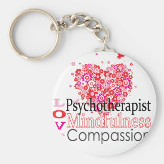 Psychotherapists are Compassionate Key Chain