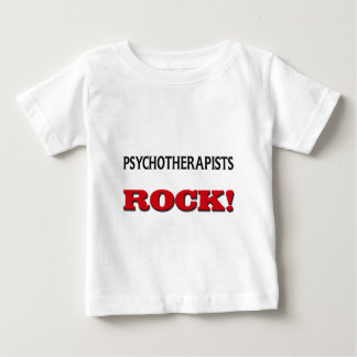 Psychotherapists Rock Baby T-Shirt