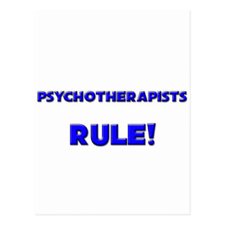 Psychotherapists Rule! Postcard