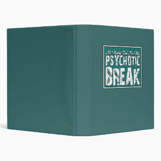 Psychotic and Mental Health Humor Binder
