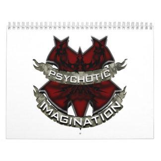 Psychotic Imagination Artwork Calander2010 Calendar
