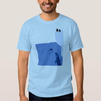 Psychotic Penguin Fishing T-shirt