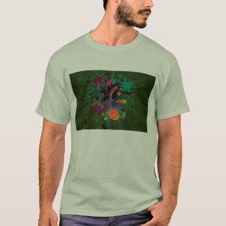 Psycodelic T-shirt Adult M Large